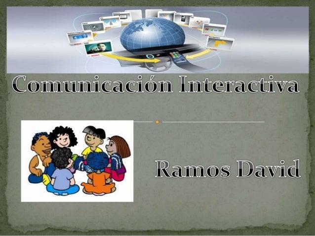 Comunicación Digital: Comunicación digital implica también interacción y colaboración entre todas las personas que hacen u...