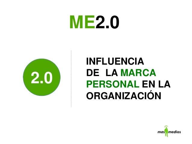 INFLUENCIADE LA MARCAPERSONAL EN LAORGANIZACIÓNME2.02.0