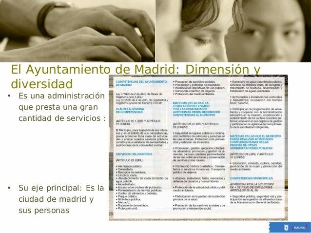 Comunicacion interna en la administracion publica. caso ayuntamiento de madrid Slide 3