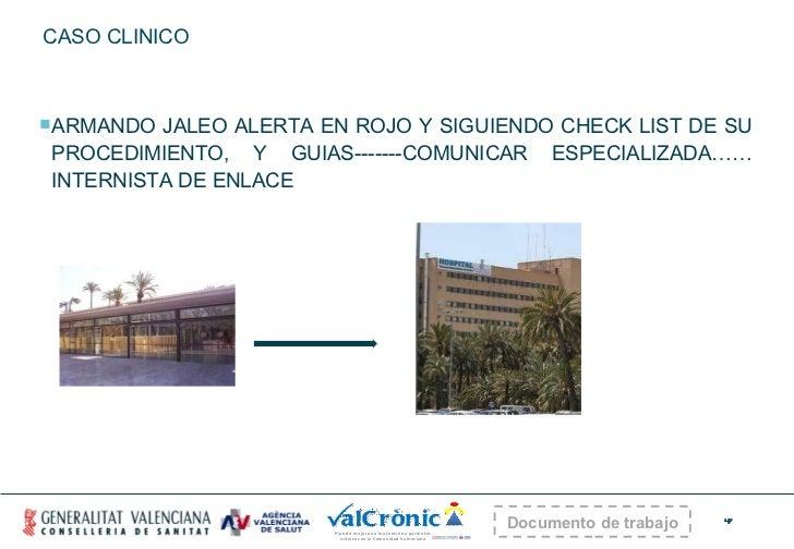 CASO CLINICO <ul><li>ARMANDO JALEO ALERTA EN ROJO Y SIGUIENDO CHECK LIST DE SU PROCEDIMIENTO, Y GUIAS-------COMUNICAR ESPE...