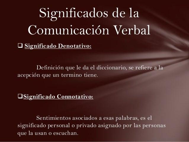 Comunicacion verbal for Significado de la palabra arbol