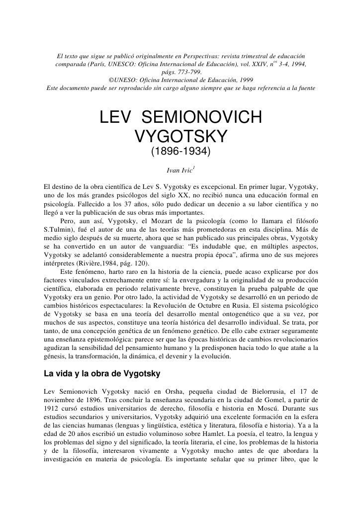 El texto que sigue se publicó originalmente en Perspectivas: revista trimestral de educación     comparada (París, UNESCO:...