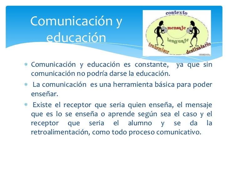 Comunicacion y enseñanza Slide 3