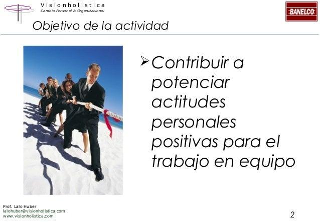 Lalo Huber - Comunicación y relaciones interpersonales para el trabajo en equipo Slide 2