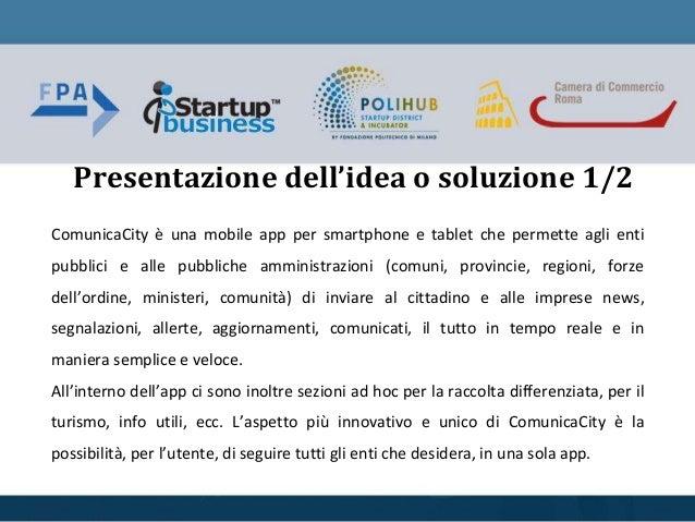 ComunicaCity forum pa call4ideas 2016 Slide 3