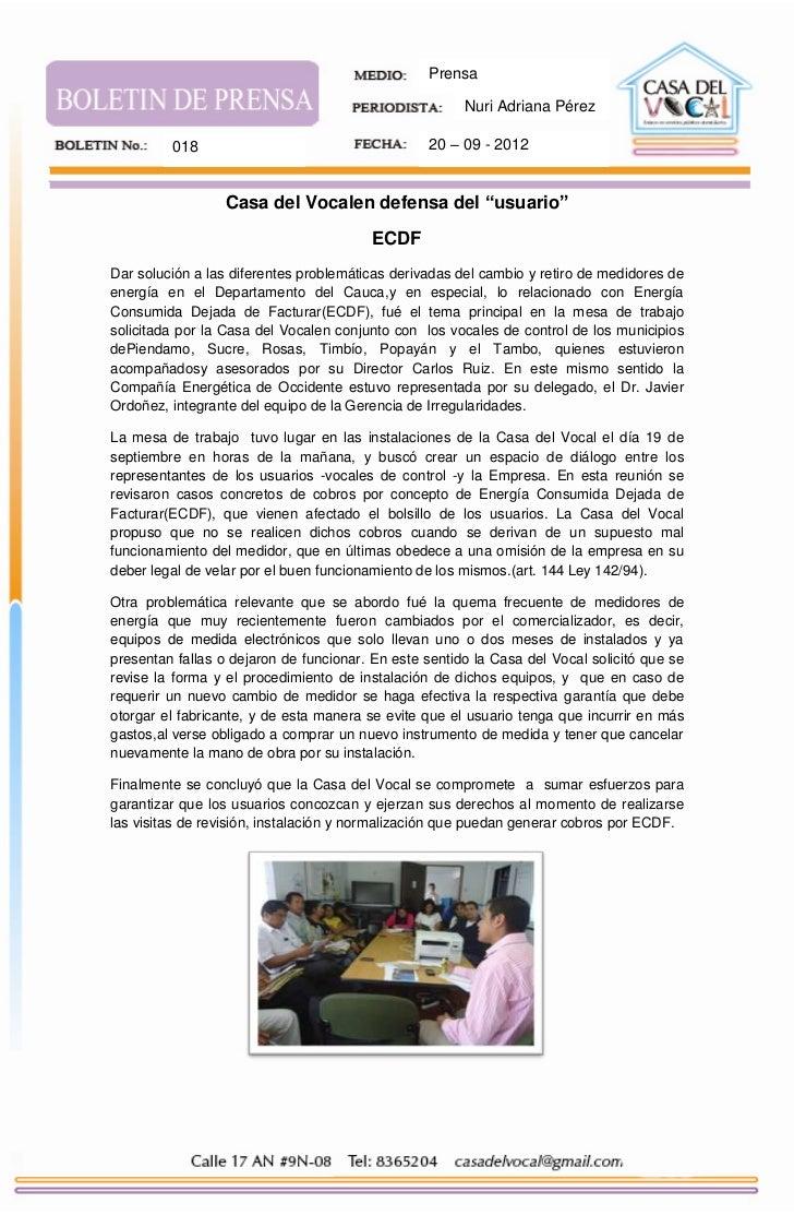 Prensa                                                       Nuri Adriana Pérez         018                               ...