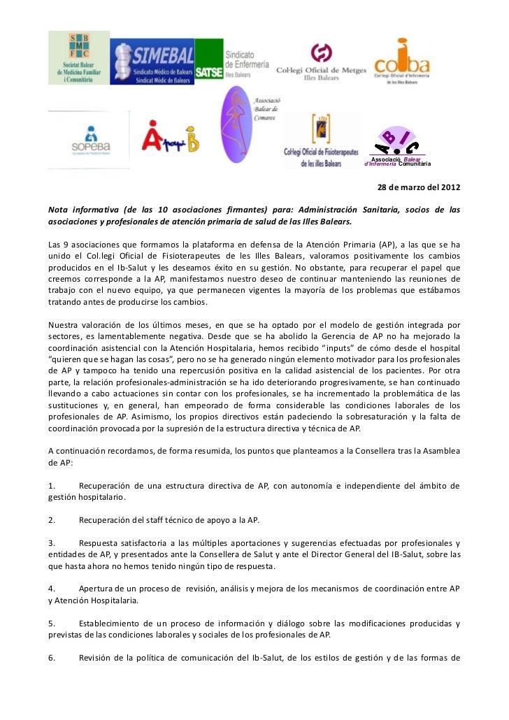 Associació Balear                                                                                   d'Infermeria Comunitàr...