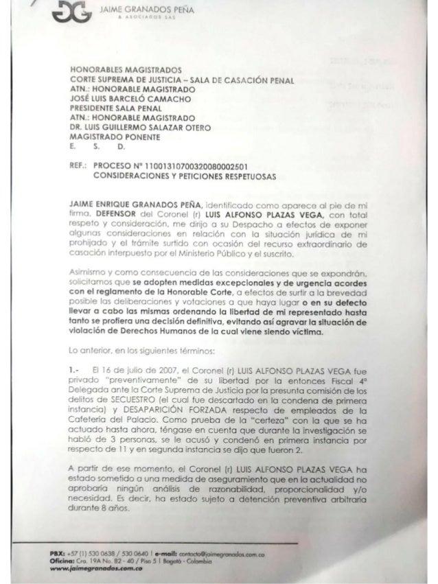 HONOHABLL',  mncisrrrrxocws com SUPREMA DE JUSTICIA - SALA c:  cp. : 'ÇIÓN PLJAL AiN HONORABLE MAGISTRADO  JOSE LUIS BARCE...