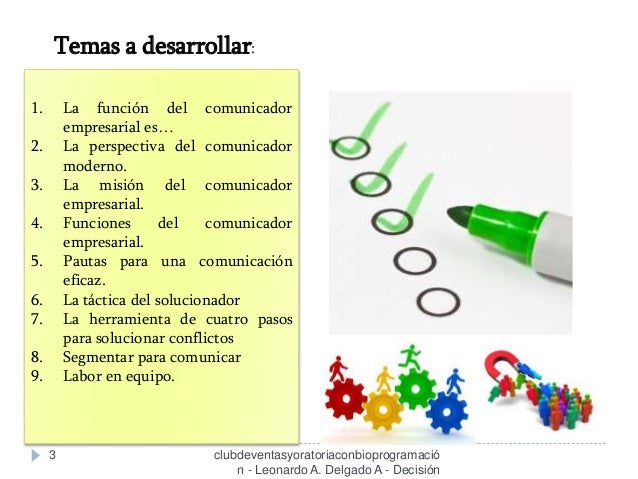 Comunicación Empresarial - Clase 04 - Curso / Taller   Slide 3