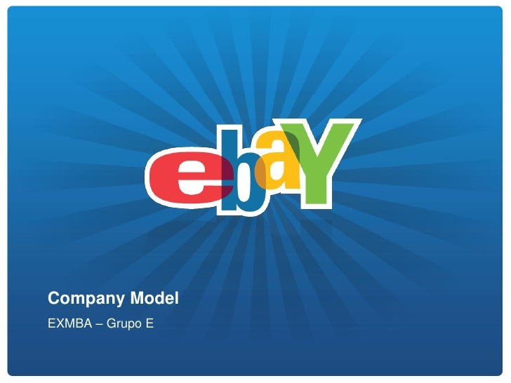 Company ModelEXMBA – Grupo E