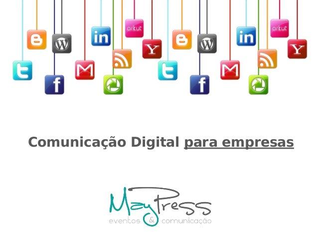 Comunicação Digital para empresas