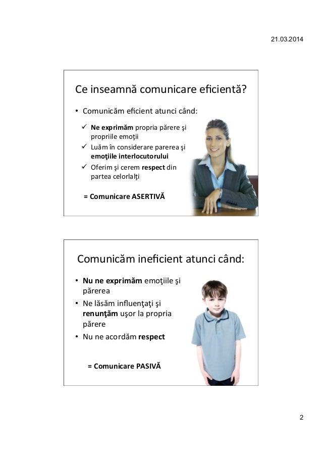 Comunicarea asertiva