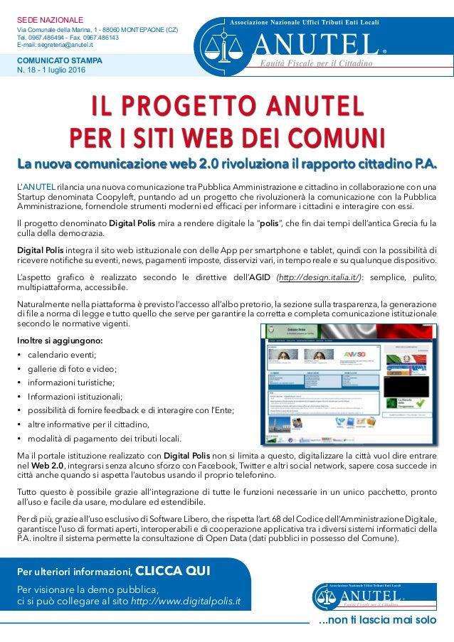 SEDE NAZIONALE Via Comunale della Marina, 1 - 88060 MONTEPAONE (CZ) Tel. 0967.486494 - Fax. 0967.486143 E-mail: segreteria...