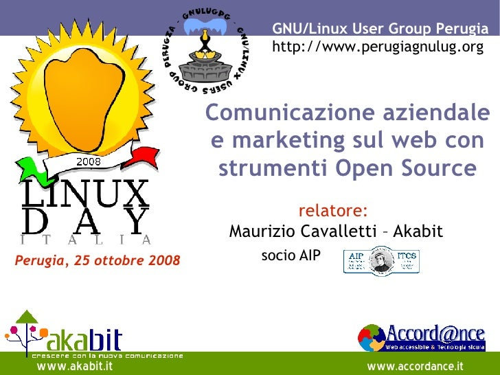 GNU/Linux User Group Perugia                                  http://www.perugiagnulug.org                               C...