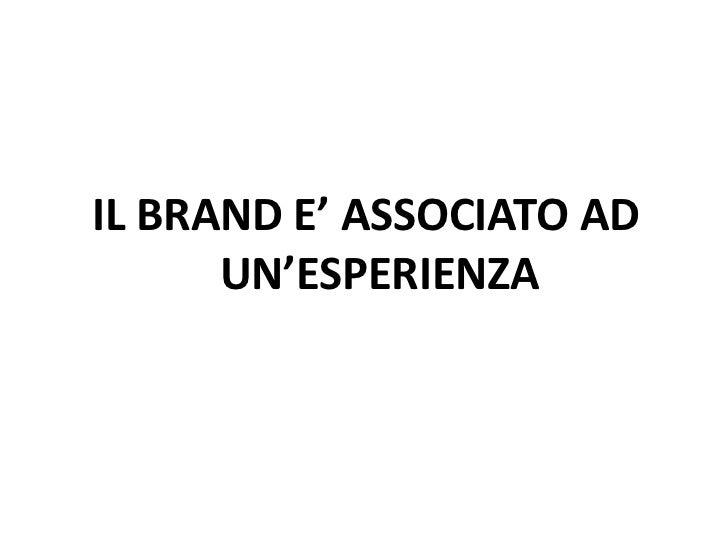 Il marchio• Distingue un prodotto o servizio• Ne certifica la provenienza e/o il rispetto di determinati  requisiti• E' la...
