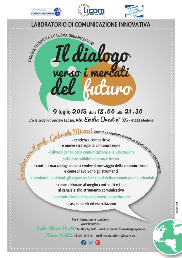 :vitae  LABORATORIO DI COMUNICAZIONE INNOVATIVA QNxXEECNUSMAORGAN/ ?àmyo 49 L-E e A  à* / / / / 1//1  É  , (iA/ //vr>(/ /)...