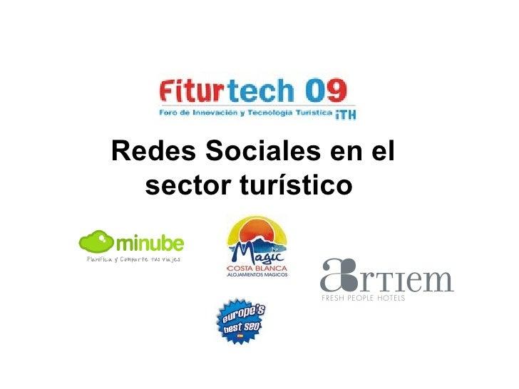 Redes Sociales en el sector turístico