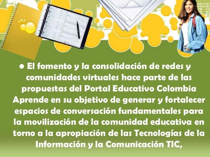 Comunidad academica en_red Slide 2