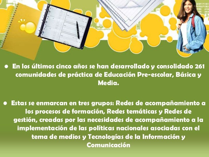 Comunidad academica en_red Slide 3