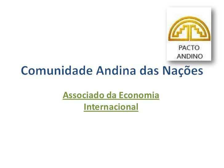 Associado da Economia    Internacional