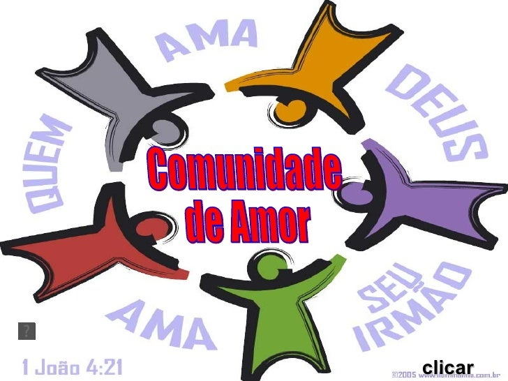 clicar Comunidade  de Amor