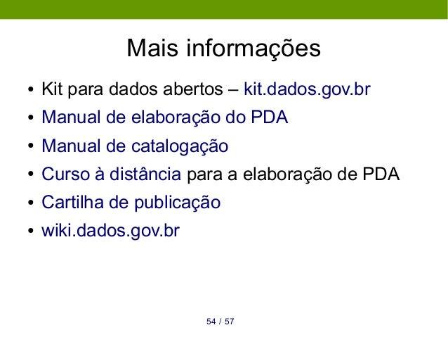 Políticas de dados abertos