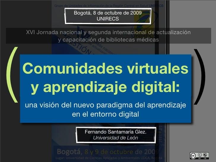Bogotá, 8 de octubre de 2009                                UNIRECS      XVI Jornada nacional y segunda internacional de a...