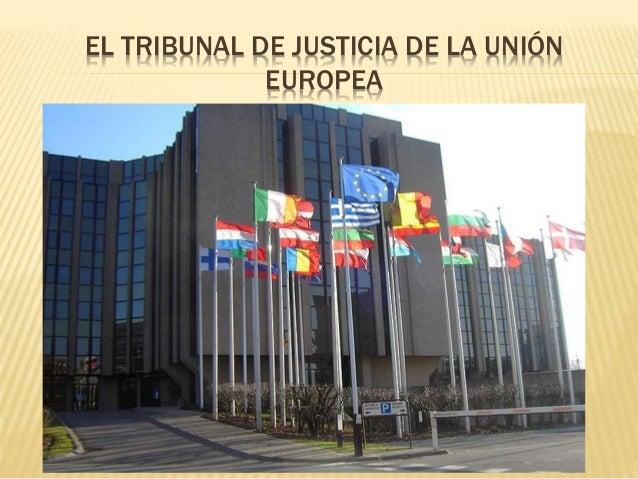 Resultado de imagen para tribunal de justicia europeo