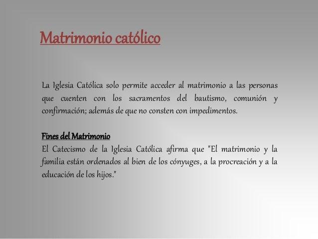 Efectos Del Matrimonio Catolico : Comunidad familiar