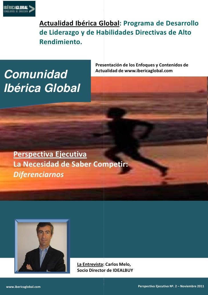 Actualidad Ibérica Global Programa de Desarrollo                                       Global:                    de Lider...