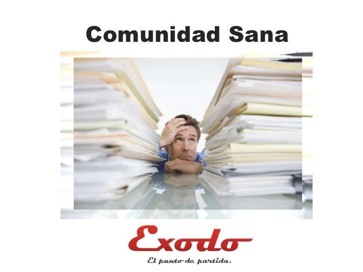 Comunidad Sana