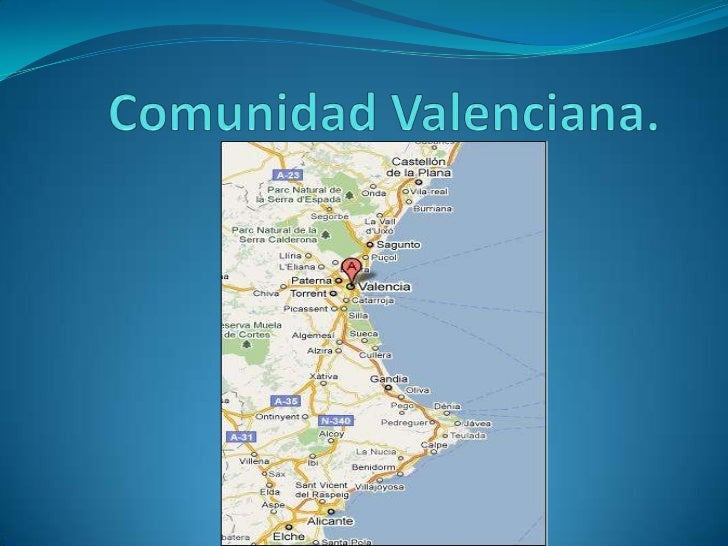Comunidad Valenciana.<br />