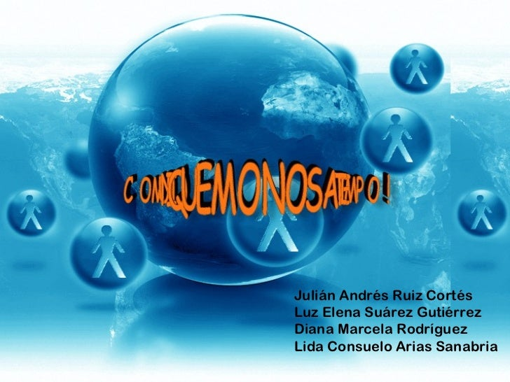 Julián Andrés Ruiz Cortés Luz Elena Suárez Gutiérrez Diana Marcela Rodríguez Lida Consuelo Arias Sanabria