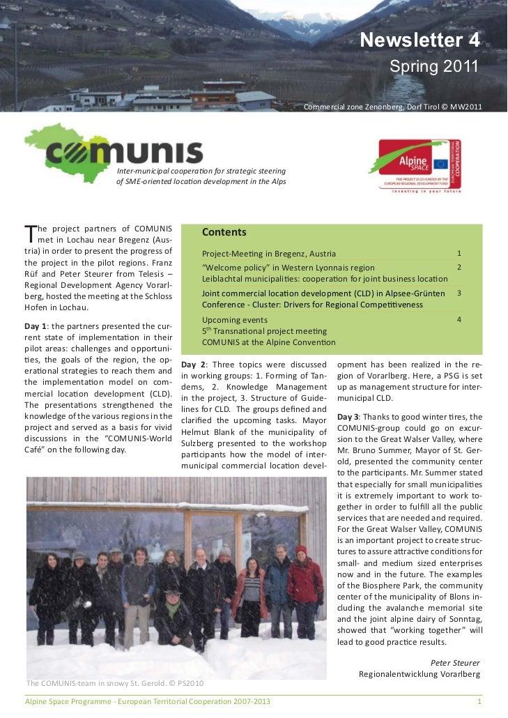 Newsletter 4                                                                                                    Spring 201...