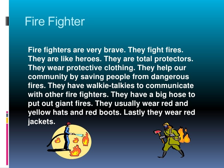 Essay on firefighters are heroes