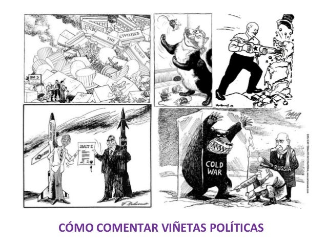CÓMO COMENTAR VIÑETAS POLÍTICAS