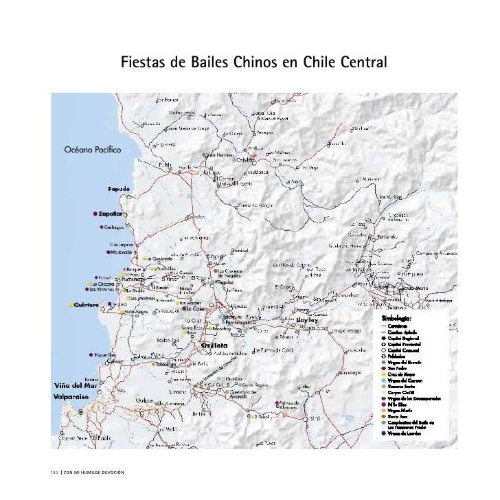 Mapa de fiestas de bailes chinos en Chile central Glosario Agradecimientos