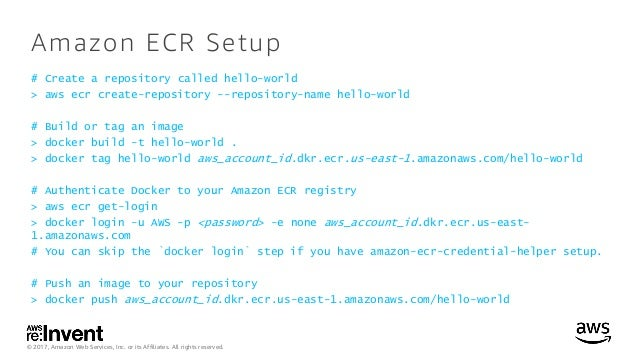 Moving to Containers: Building with Docker and Amazon ECS