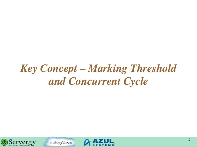 Key Concept – Marking Threshold and Concurrent Cycle 12