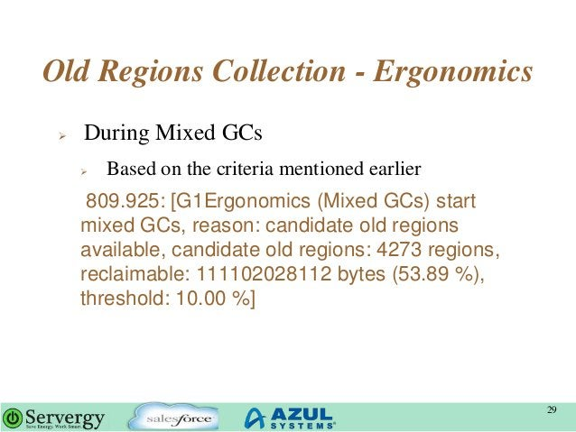 Old Regions Collection - Ergonomics  During Mixed GCs  Based on the criteria mentioned earlier 809.925: [G1Ergonomics (M...