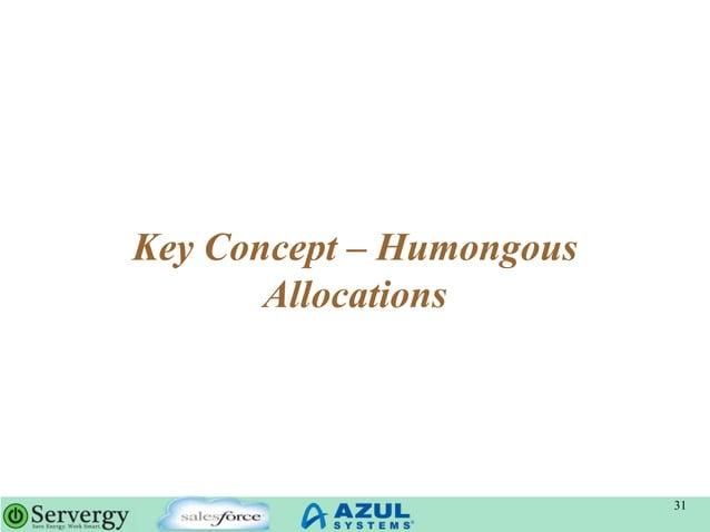 Key Concept – Humongous Allocations 31