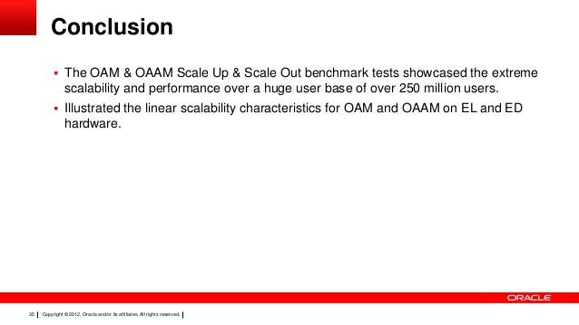 Conclusion  The OAM & OAAM Scale Up & Scale Out benchmark tests showcased the extreme  scalability and performance over a...