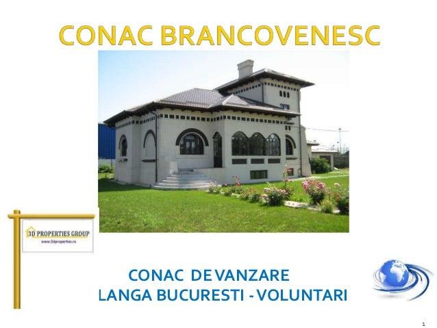 CONAC DE VANZARE LANGA BUCURESTI - VOLUNTARI 1