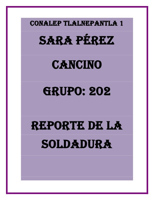 Soldadura - Grupo de soldadura ...