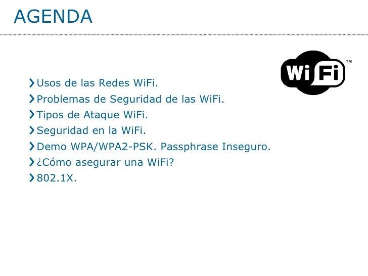 Redes WiFi. Problemas y Soluciones. Slide 3