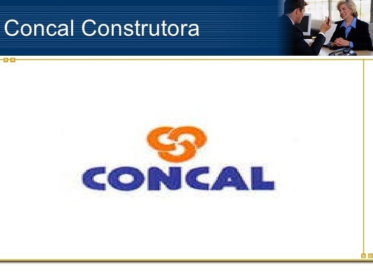Concal construtora- Uma empresa ficticia de Grazi