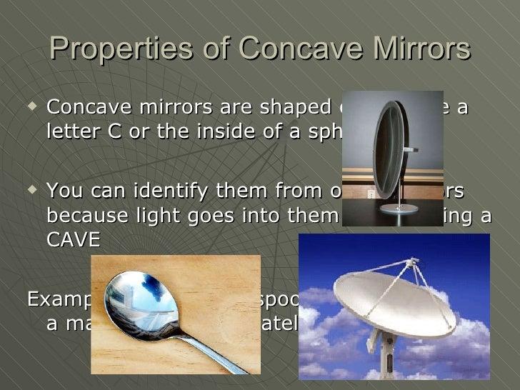 Concave Mirrors