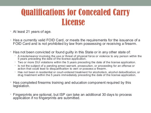 Illinois Concealed Carry