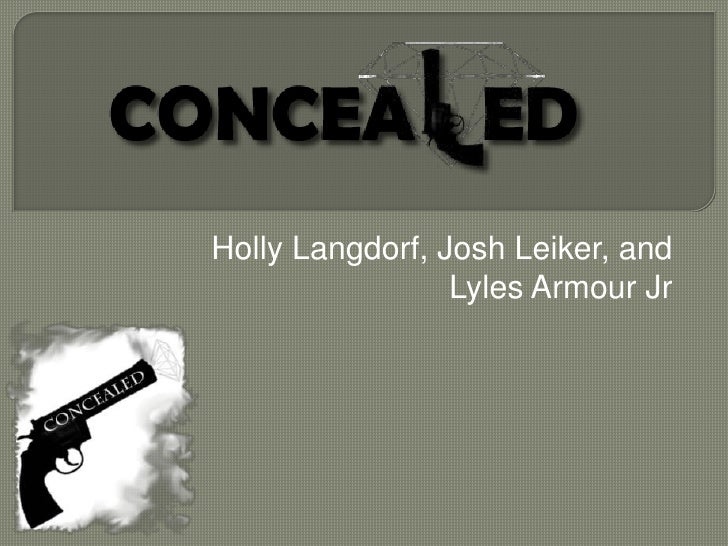 Holly Langdorf, Josh Leiker, and Lyles ArmourJr<br />