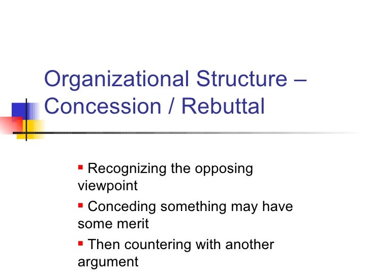 concession and rebuttal ospi persuasive writing concession rebuttal ospi 2
